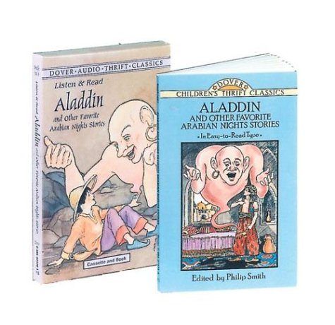 9780486401089: Listen & Read Aladdin: And Other Favorite Arabian Nights Stories