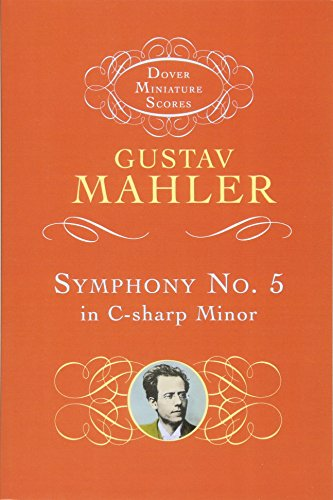 9780486401157: Gustav Mahler: Symphony No.5 In C Sharp Minor (1902) (Miniature Score) (Dover miniature scores)
