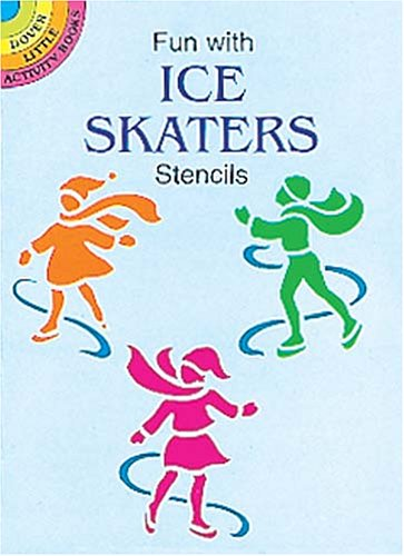 9780486401188: Fun With Ice Skaters Stencils