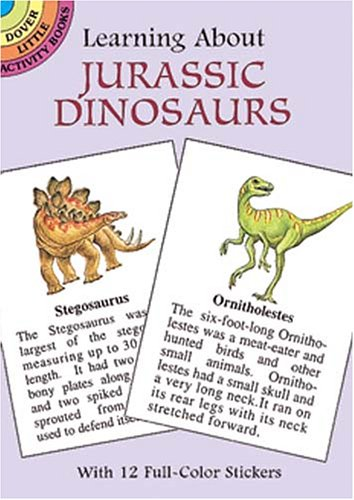 9780486401324: Learning About Jurassic Dinosaurs (Learning about Books (Dover))