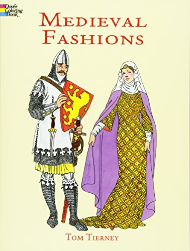 9780486401447: Medieval Fashions Coloring Book (Dover Fashion Coloring Book)