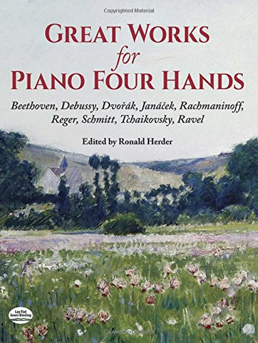 9780486401737: Great Works for Piano Four Hands