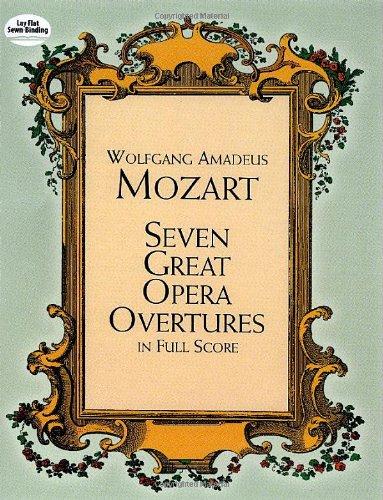 9780486401744: Mozart, Seven Great Opera Overtures (Full Score)