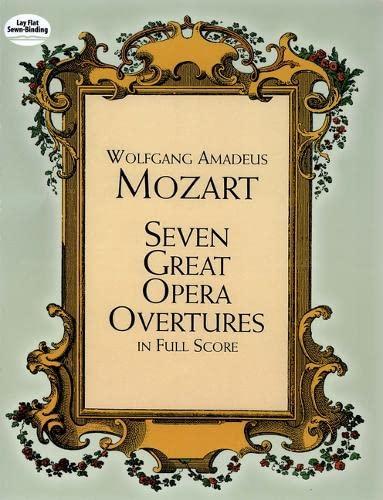 9780486401744: Seven Great Opera Overtures in Full Score (Dover Music Scores)