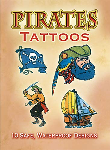 9780486402024: Pirates Tattoos (Dover Tattoos)