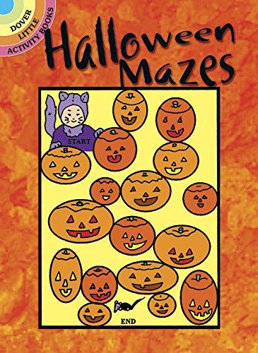9780486402086: Halloween Mazes (Dover Little Activity Books)