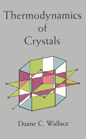 Thermodynamics of Crystals: Wallace, Duane C.