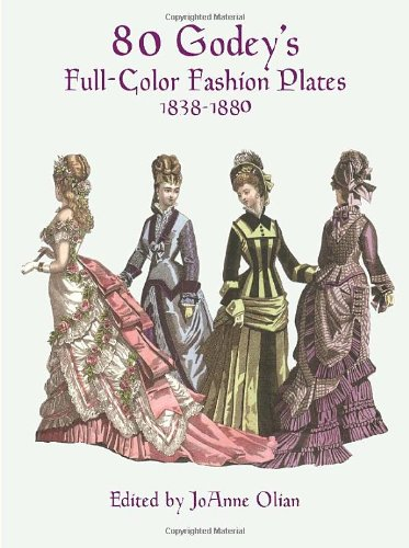 9780486402222: 80 Godey's Full-Color Fashion Plates, 1838-1880