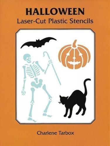 9780486402253: Halloween Laser-Cut Plastic Stencils