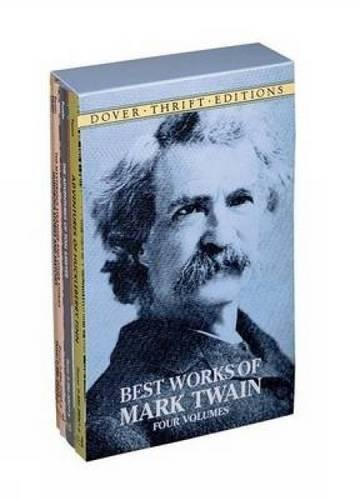 9780486402260: Best Works of Mark Twain: Four Volumes (Dover Thrift Editions)