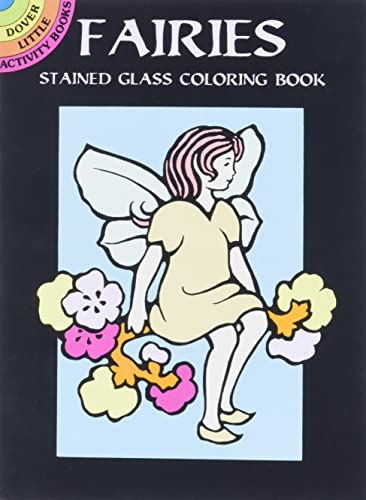 9780486402475: Fairies Stained Glass Coloring Book (Dover Stained Glass Coloring Book)