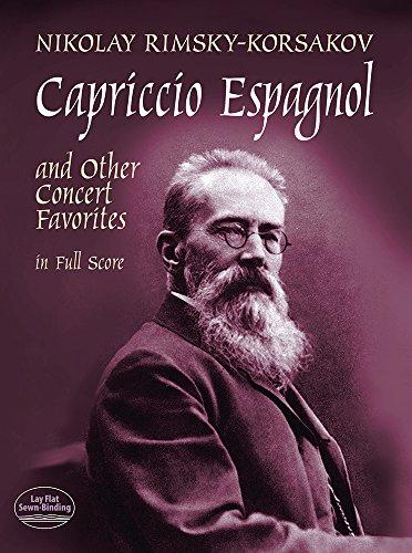 9780486402499: Capriccio Espagnol and Other Concert Favorites in Full Score (Dover Music Scores)