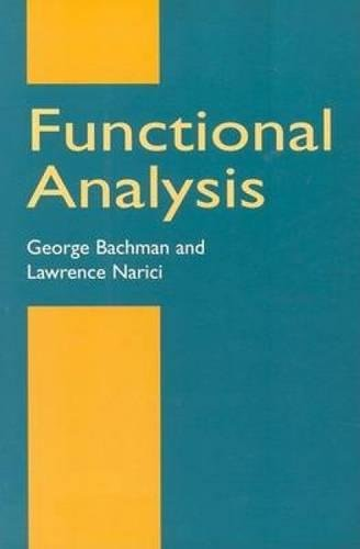 9780486402512: Functional Analysis (Dover Books on Mathematics)