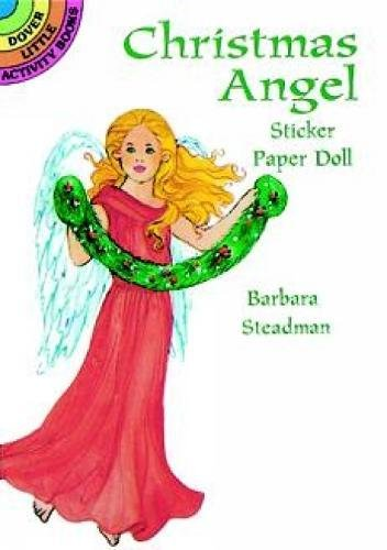 9780486402598: Christmas Angel Sticker Paper Doll (Dover Little Activity Books Paper Dolls)