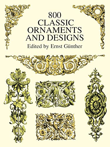 9780486402611: 800 Classic Ornaments and Designs