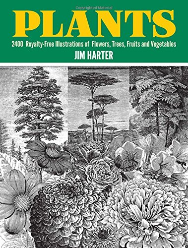 9780486402642: Plants: 2,400 Royalty-Free Illustrations of Flowers, Trees, Fruits and Vegetables (Dover Pictorial Archive)