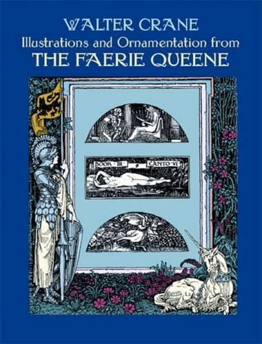 9780486402741: Illustrations and Ornamentation from The Faerie Queene (Dover Fine Art, History of Art)