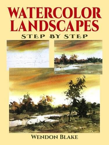 9780486402802: Watercolor Landscapes Step by Step (Dover Art Instruction)