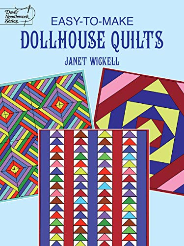 9780486402918: Easy-to-Make Dollhouse Quilts (Dover Quilting)