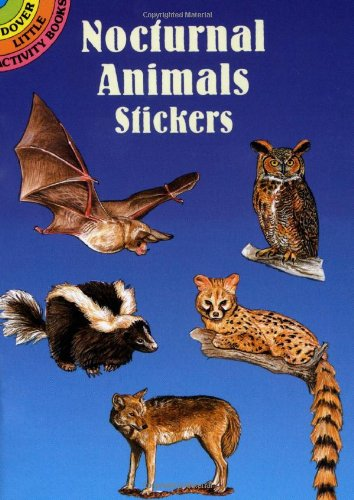 9780486403069: Nocturnal Animals Stickers (Dover Little Activity Books Stickers)