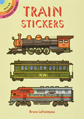 9780486403106: Train Stickers (Dover Little Activity Books Stickers)