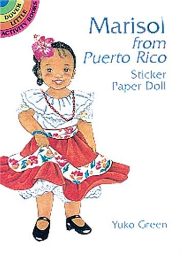 9780486403199: Marisol from Puerto Rico Sticker Paper Doll (Dover Little Activity Books)