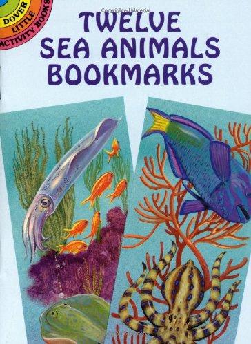9780486403298: Twelve Sea Animals Bookmarks (Dover Bookmarks)