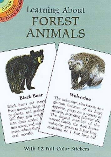9780486403342: Learning About Forest Animals (Dover Little Activity Books)
