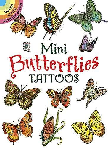 MINI BUTTERFLIES TATTOOS (19 different designs) (b)
