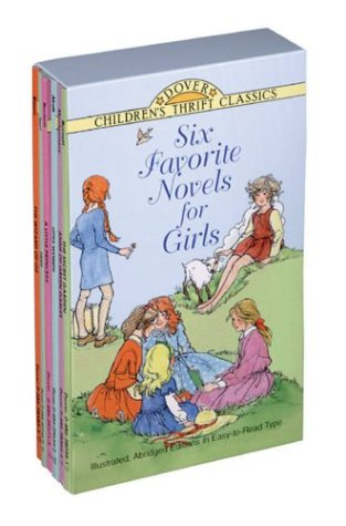 Six Favorite Novels for Girls: Anne of Green Gables, The Secret Garden, Story of Pocahantas, A Little Princess, Little Women and Heidi (9780486403465) by Dover