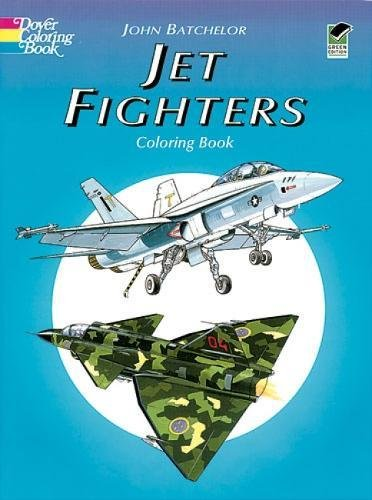 9780486403571: Jet Fighters Coloring Book