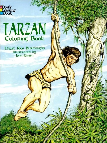 9780486403595: Tarzan Coloring Book (Dover Classic Stories Coloring Book)