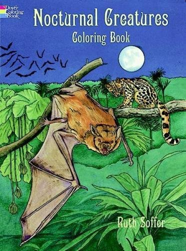 9780486403625: Nocturnal Creatures: Coloring Book