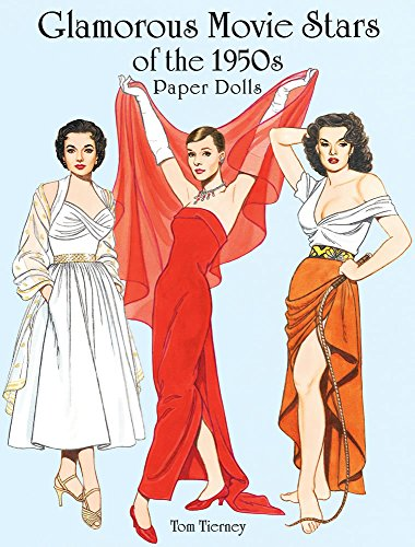 9780486403694: Glamorous Movie Stars of the 1950s Paper Dolls