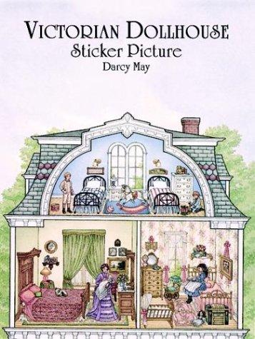 9780486403755: Victorian Dollhouse Sticker Picture (Sticker Picture Books)