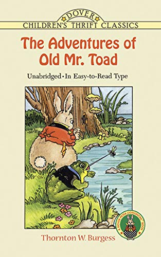 9780486403854: The Adventures of Old Mr. Toad (Dover Children's Thrift Classics)