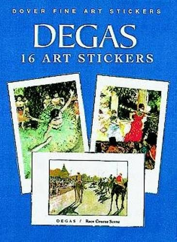 9780486403915: Degas: 16 Art Stickers (Dover Art Stickers)