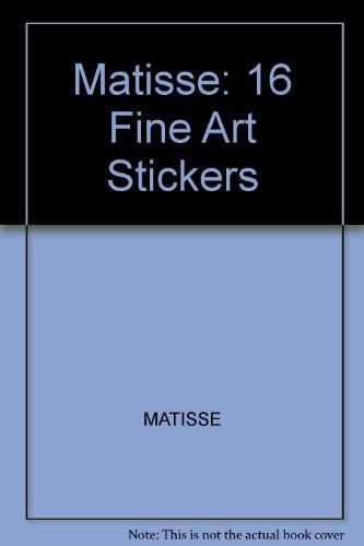 9780486403946: Matisse: 16 Art Stickers