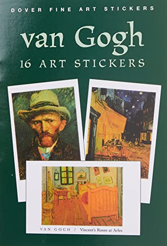 9780486403953: Van Gogh: 16 Art Stickers (Dover Art Stickers)