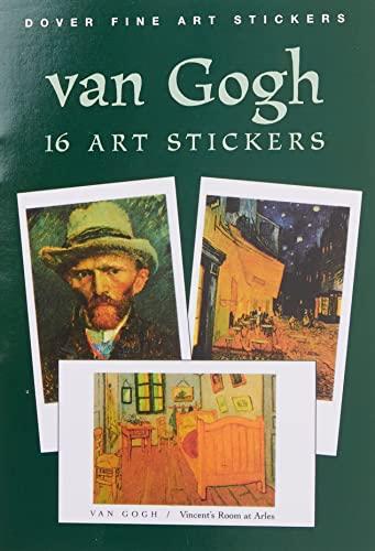 9780486403953: Van Gogh: 16 Art Stickers