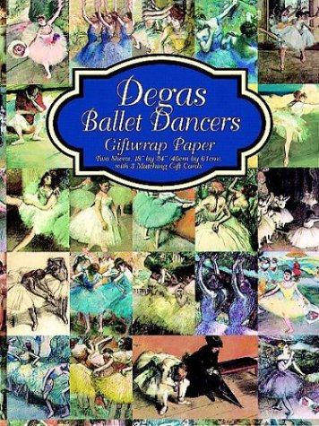 9780486403977: Degas Paintings Paintings Giftwrap Paper (Giftwrap--2 Sheets, 1 Designs)