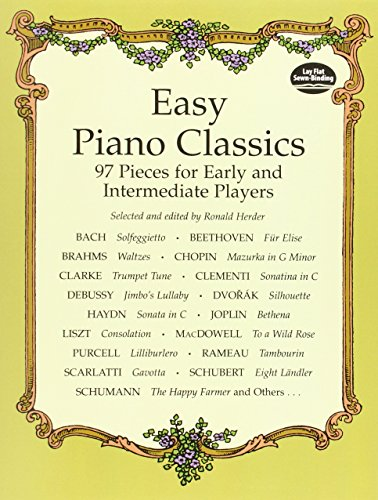 9780486404073: Easy Piano Classics: 97 Pieces for Early and Intermediate Players (Dover Music for Piano)