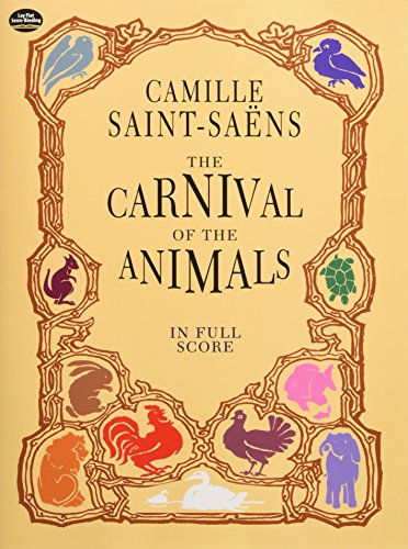 9780486404127: The Carnival of the Animals in Full Score (Dover Music Scores)