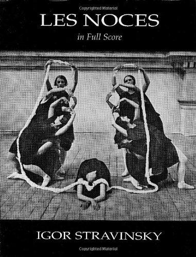 9780486404134: Les Noces in Full Score (Dover Music Scores)