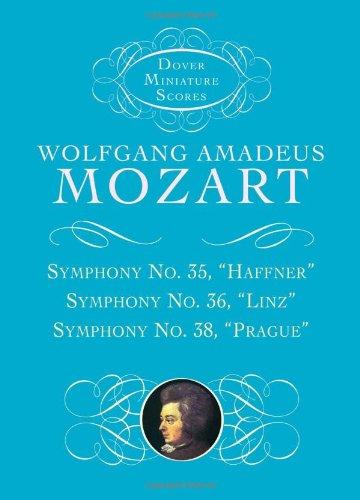 9780486404202: Symphonies Nos. 35, 36, & 38 (Dover Miniature Music Scores)