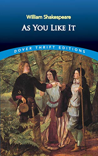 9780486404325: As You Like It: Dover Thrift Edition (Dover Thrift Editions)