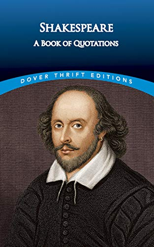 9780486404356: Shakespeare: A Book of Quotations (Dover Thrift Editions)