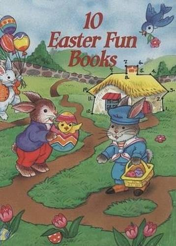 9780486404622: 10 Easter Fun Books: Stickers, Stencils, Tattoos and More (Dover Little Activity Books)