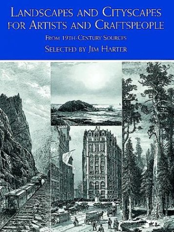 9780486404639: Landscapes and Cityscapes for Artists and Craftspeople: From 19th Century Sources (Dover Pictorial Archive Series)