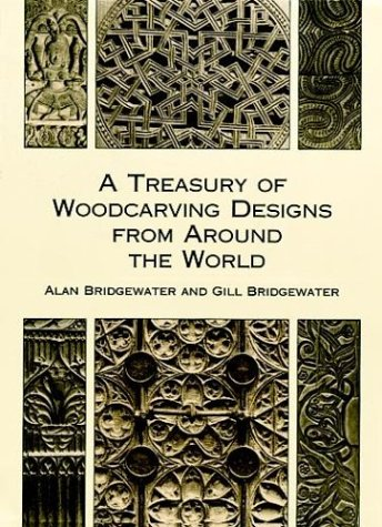 9780486404806: A Treasury of Woodcarving Designs from Around the World